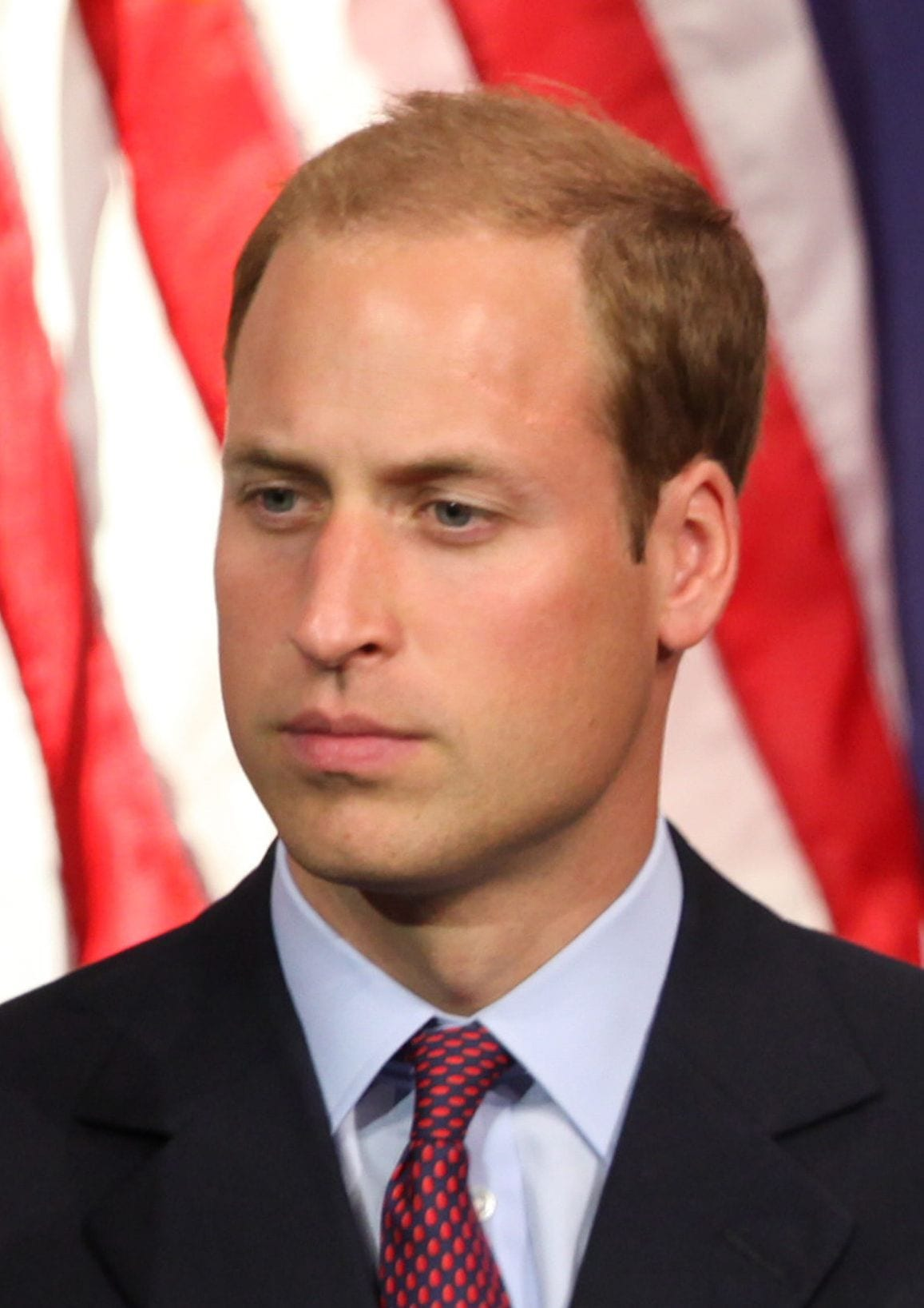 Prince William tightly-cropped hairdo