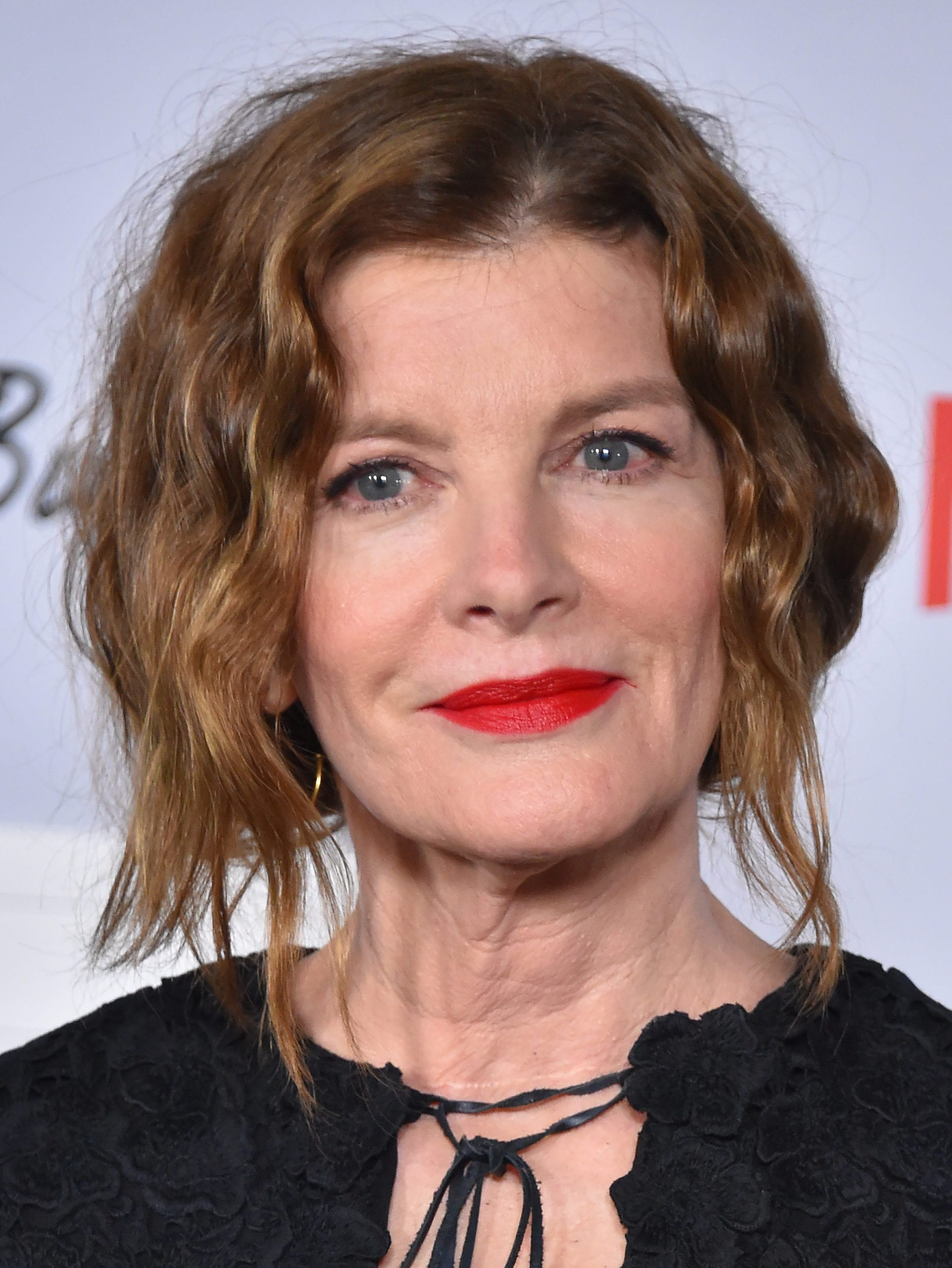 Rene Russo's Edgy Beach Waves