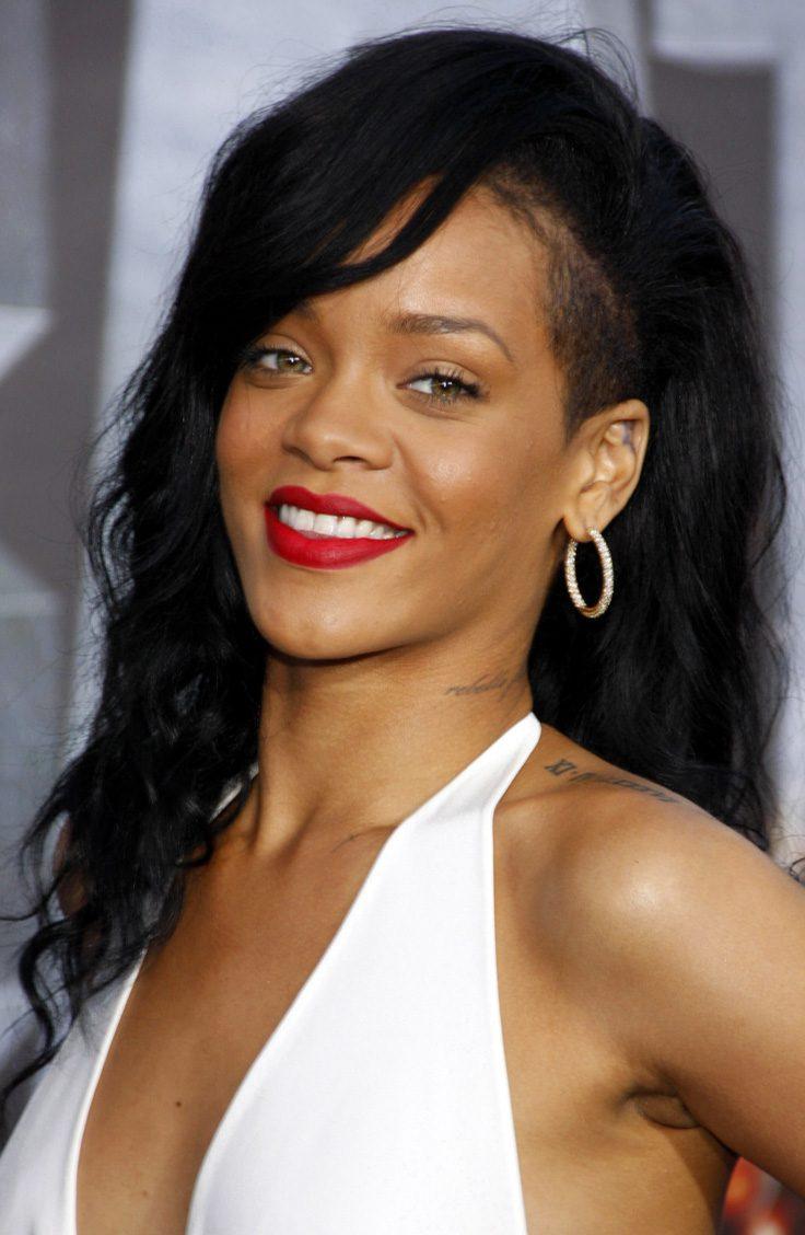 Rihanna's Shaved Side Haircut
