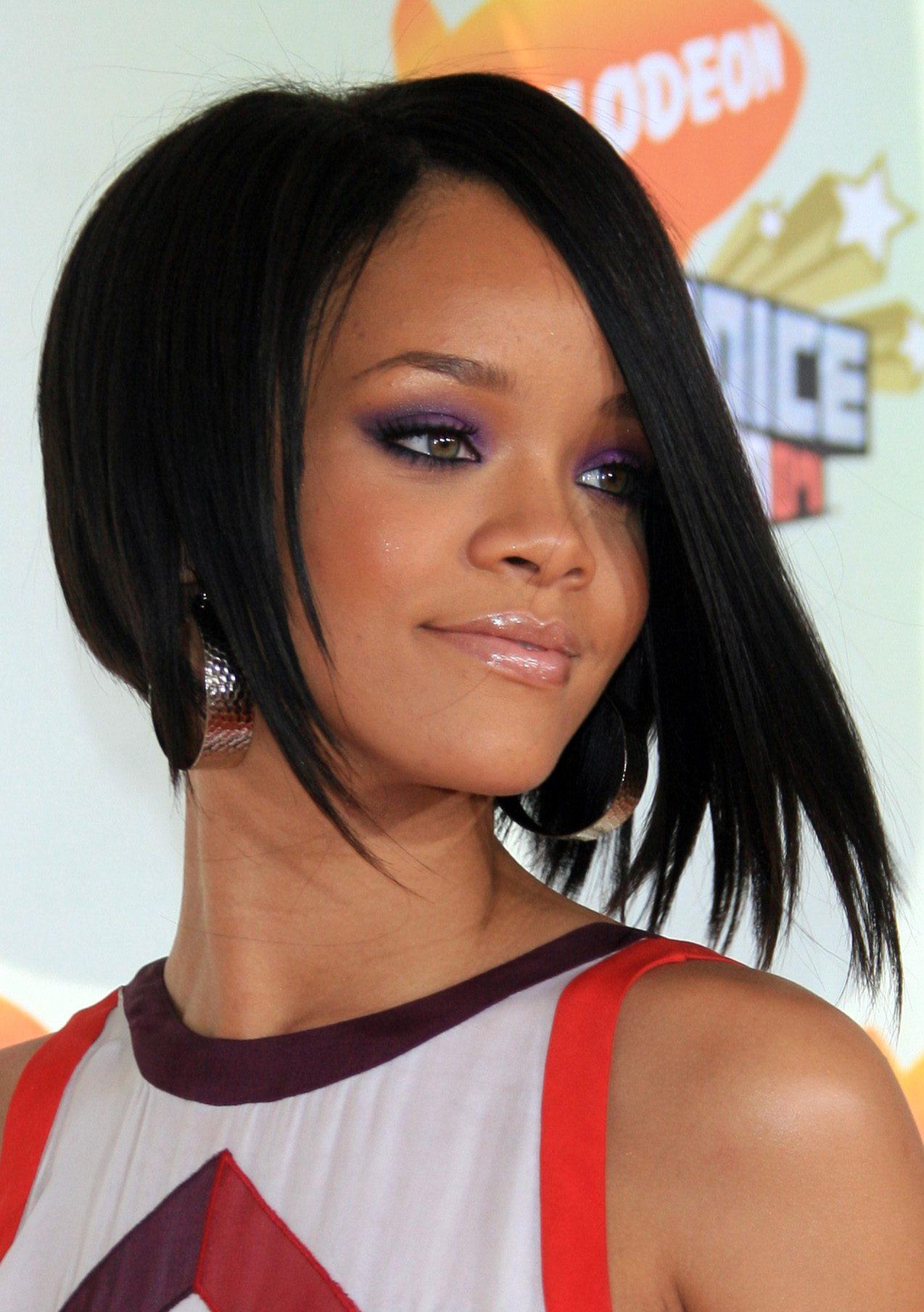 Rihanna's Angular Bob