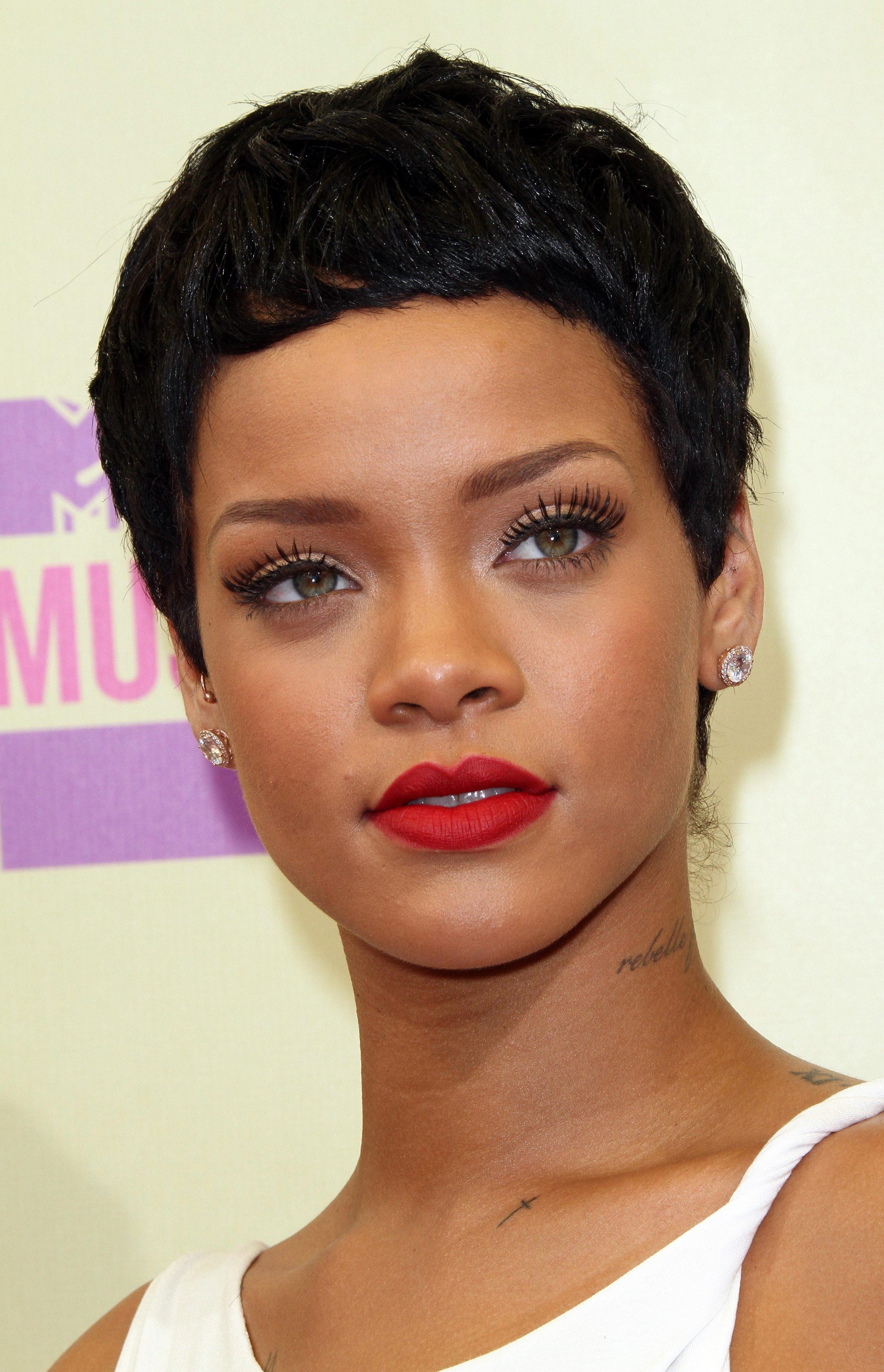 Rihanna's Classic Ceasar Crop