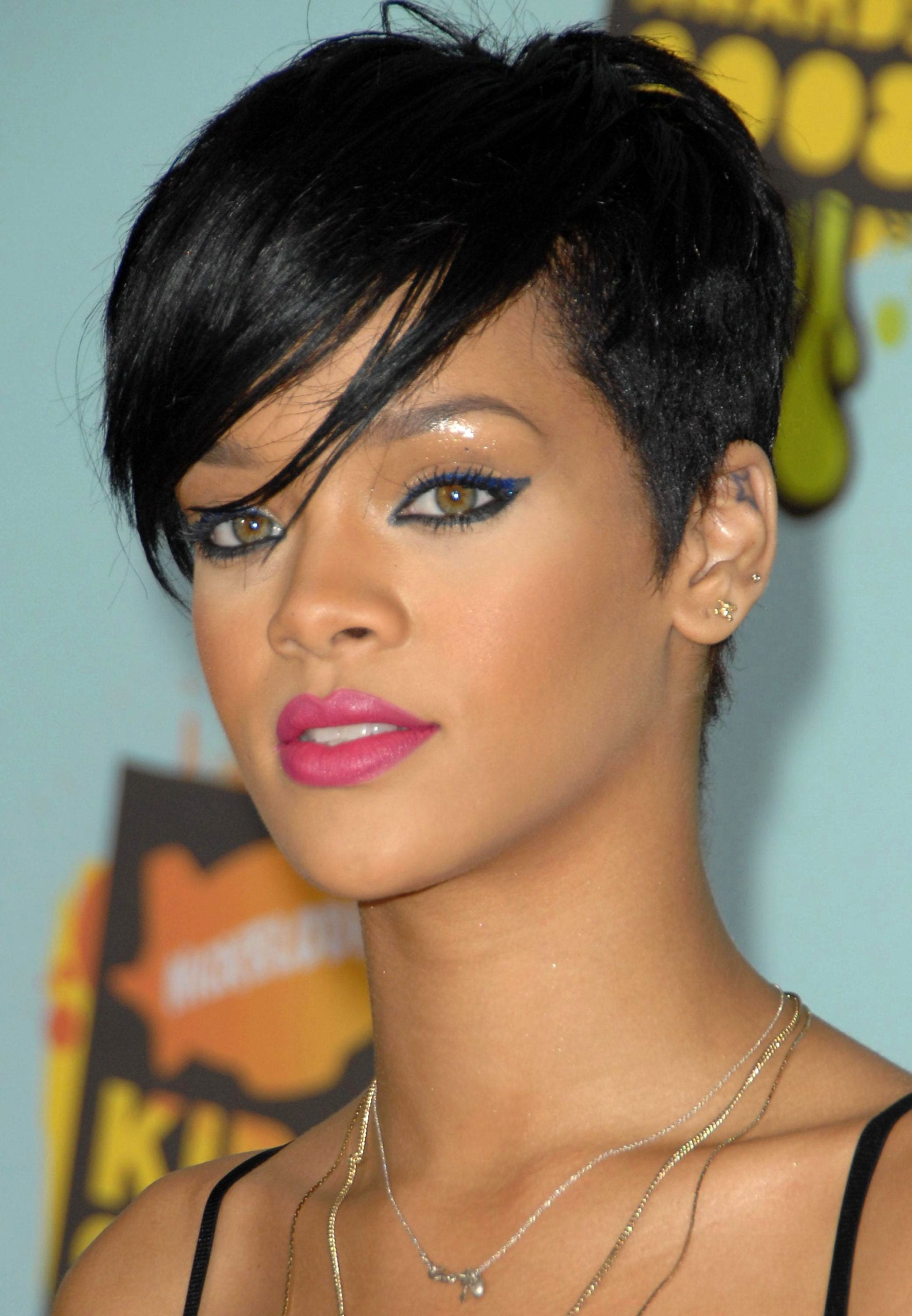 Rihanna's Tapered Pixie
