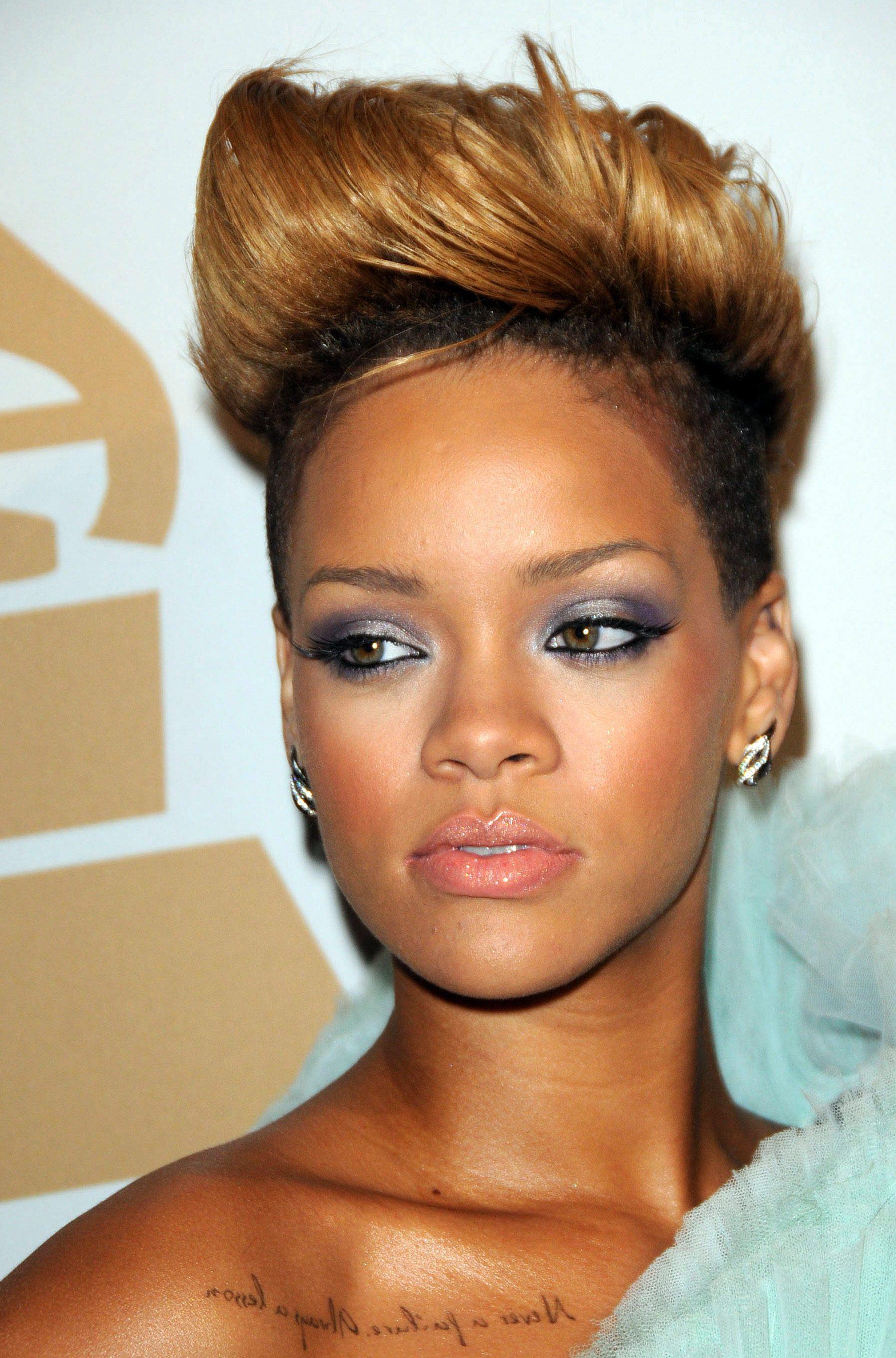 Rihanna's Undercut