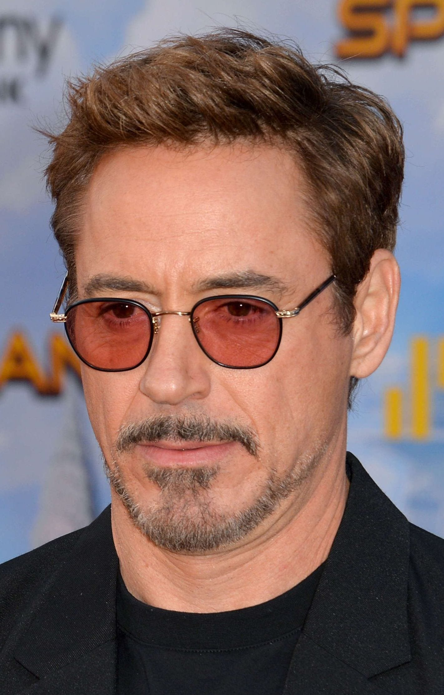 Robert Downey's Ivy League Haircut with Glasses