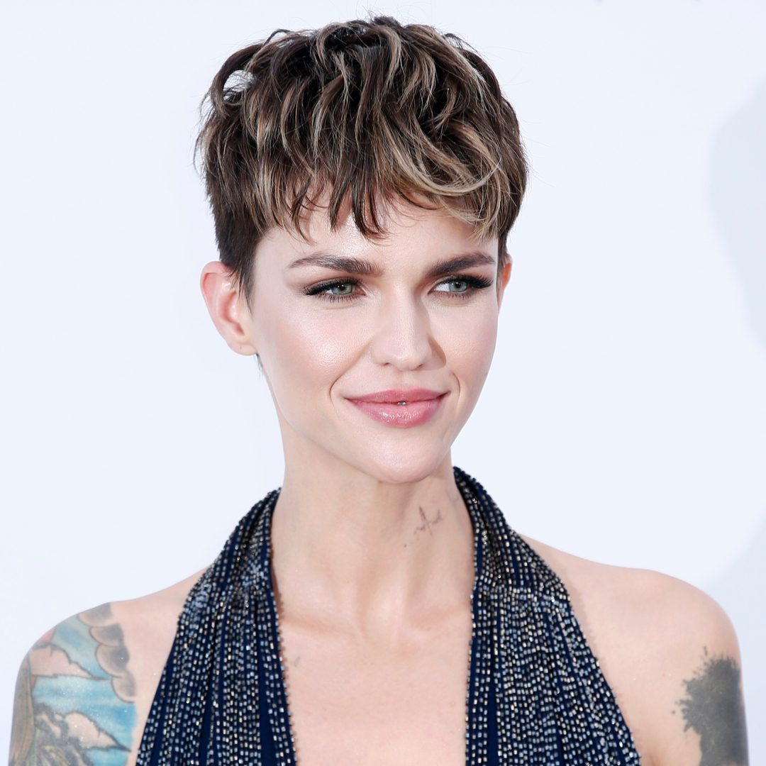 Ruby Rose's Tousled Pixie Cut Style