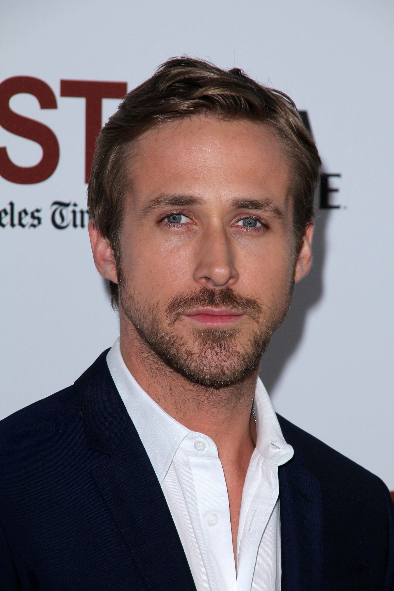 Ryan Gosling Messy Side Swept June 2011