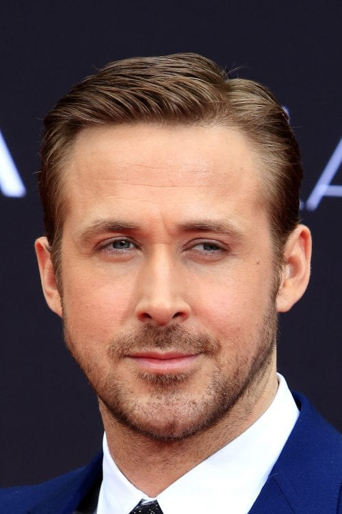 how to style hair like ryan gosling 7 gosling haircuts ready for the gallery 3922 | Ryan Gosling with a classic side part hairstyle 500x750