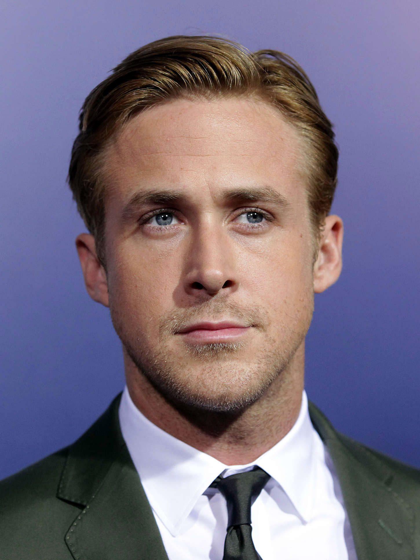 Ryan Gosling's Side Part-3-4