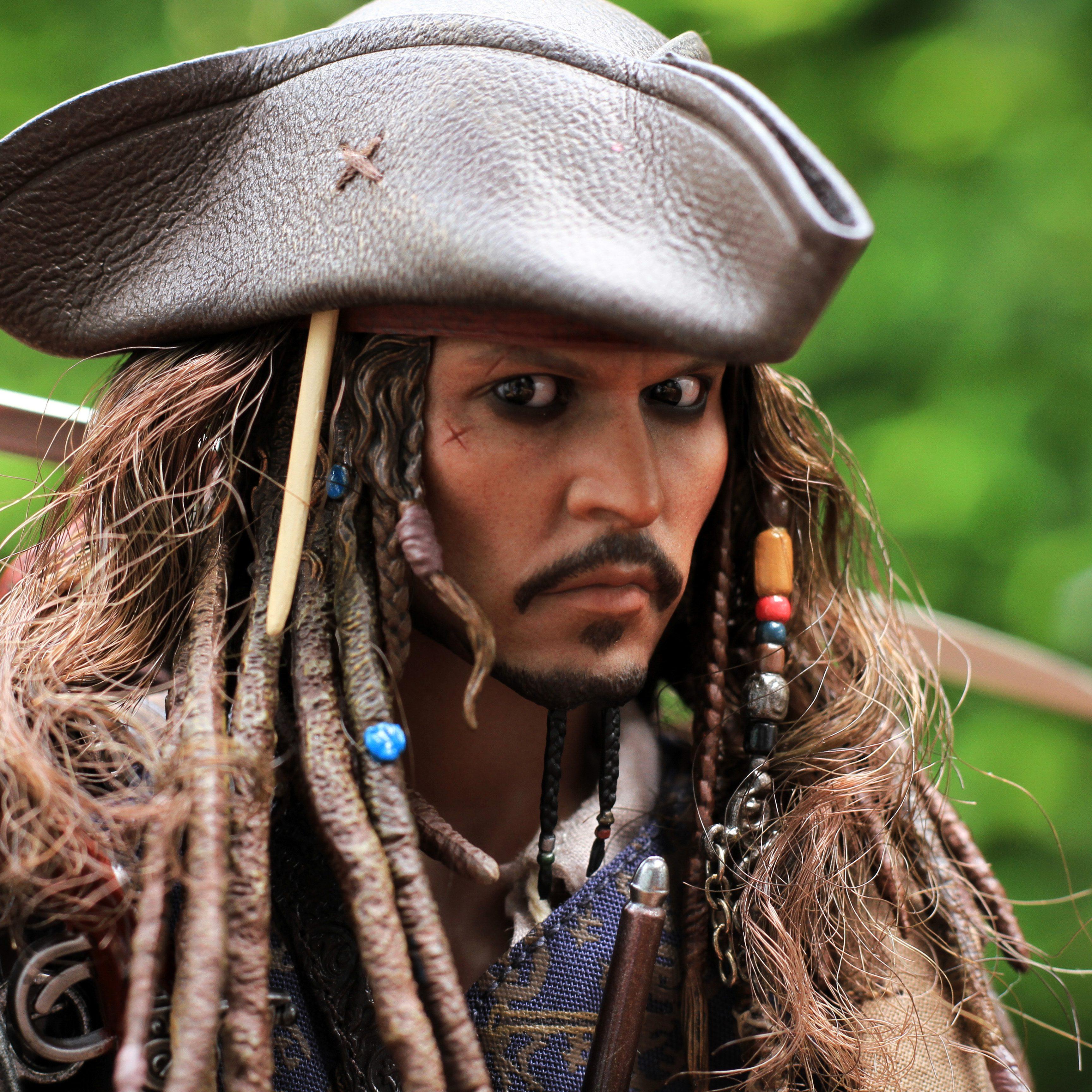 Braided Beard Jack Sparrow