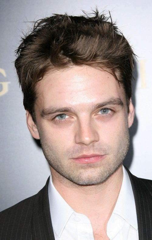 mens haircuts long face 20 selected haircuts for guys with faces 3421 | Sebastian Stan high volume spiky hairstyle for round face by s bukley e1537159004175 500x791