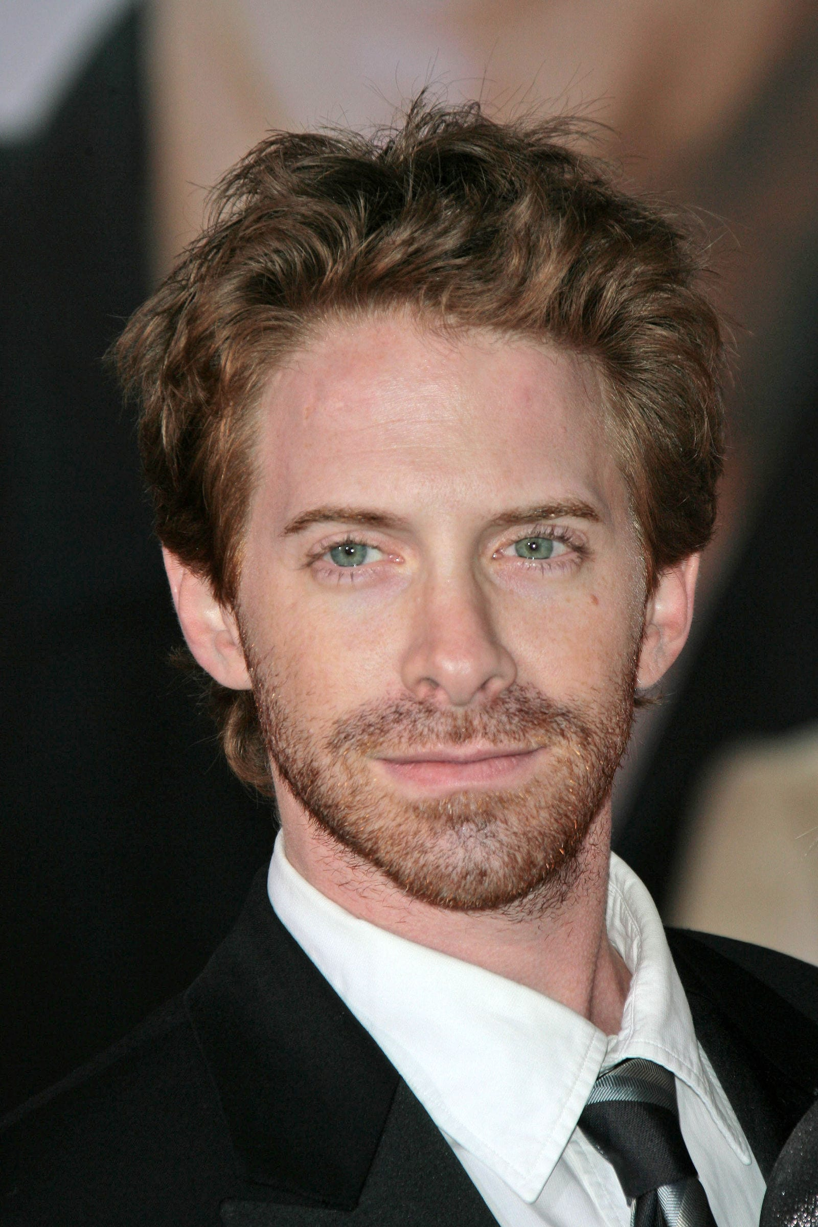 Seth Green blow out hairstyle