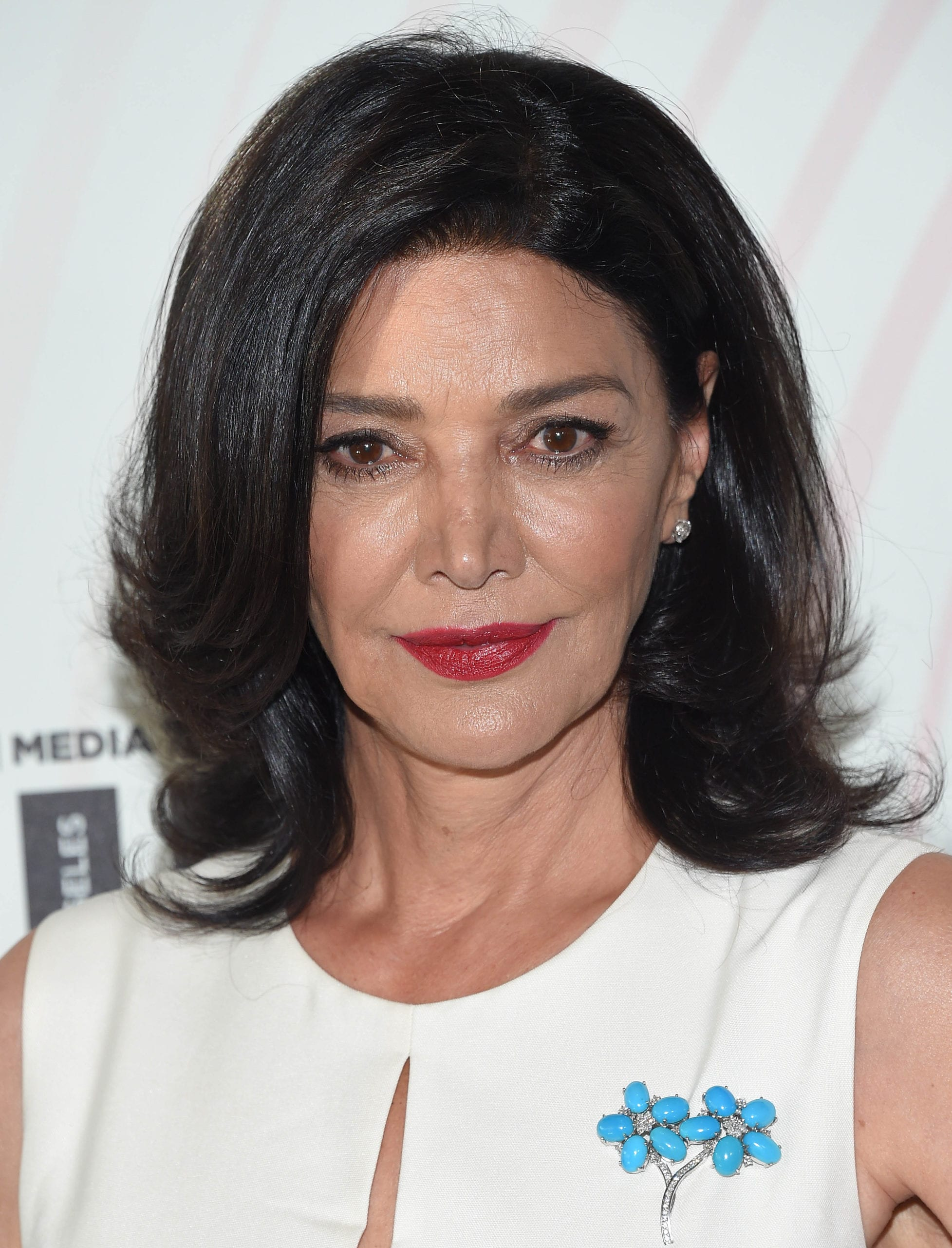 Shohreh Aghdashloo's Deep Side Part and Layers