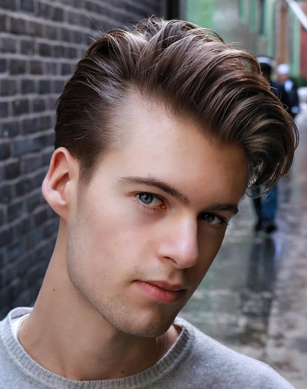 Side Swept with Classic Scissors Crop