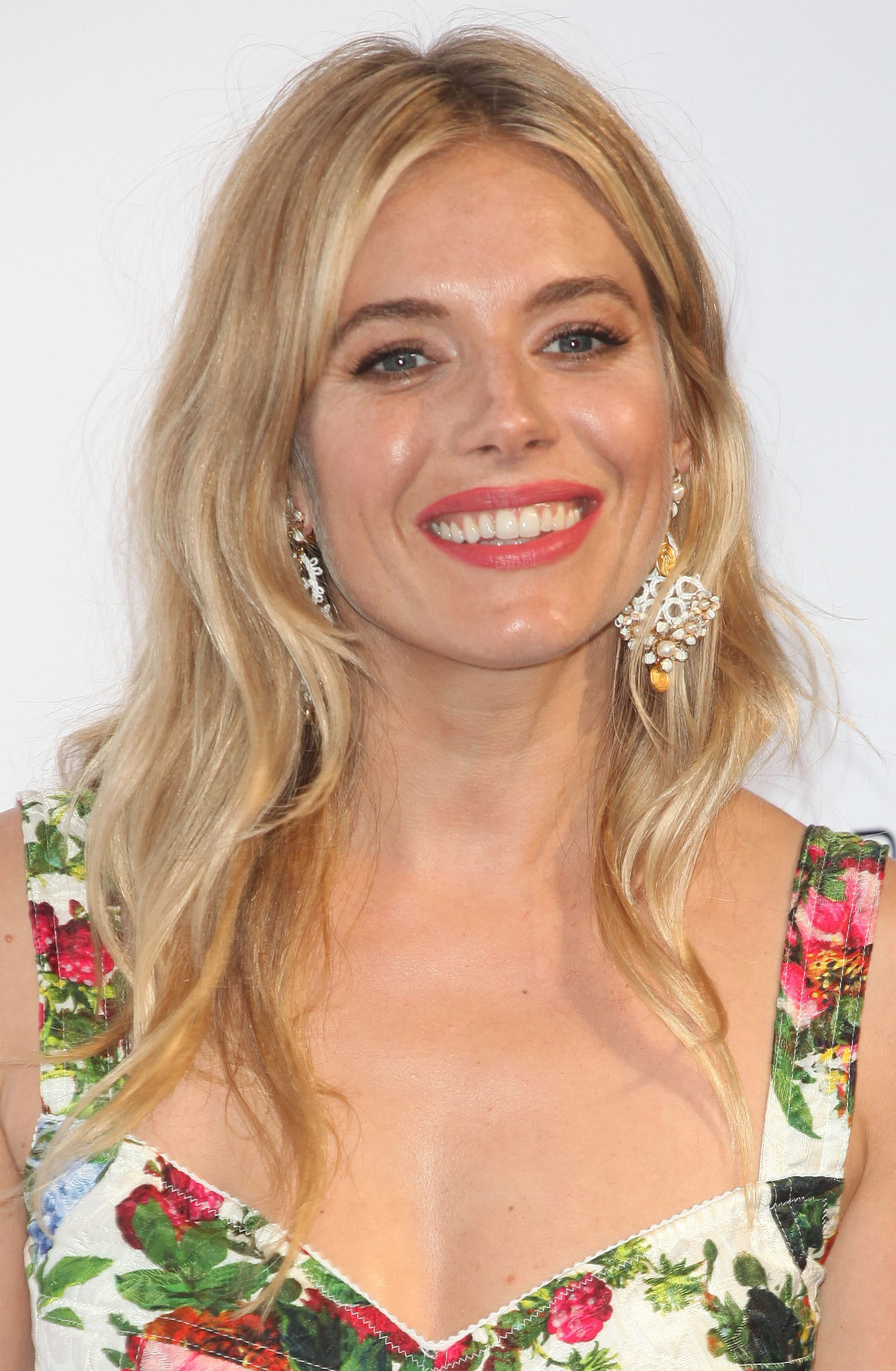 Sienna Miller's Long Blonde Layers