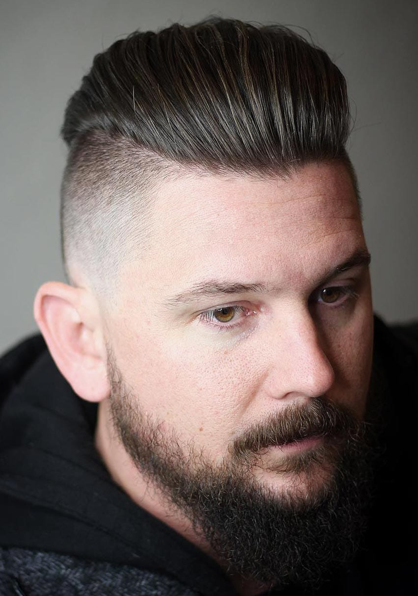 Brad Pitts Fury Haircut A Stylish Undercut Gallery
