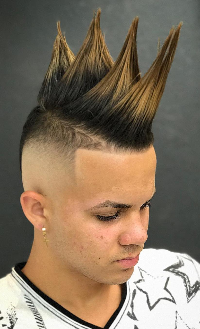 Crazy Hairstyles For Men Haircut Inspiration