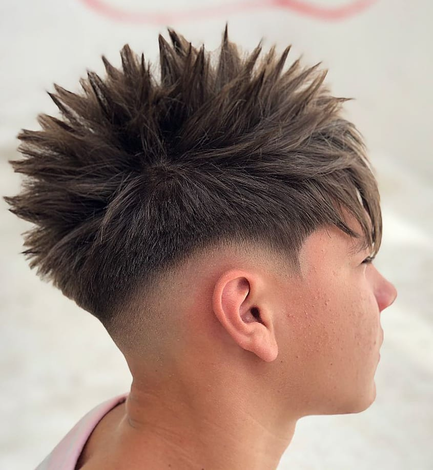 Soft Drop Fade and Spikes