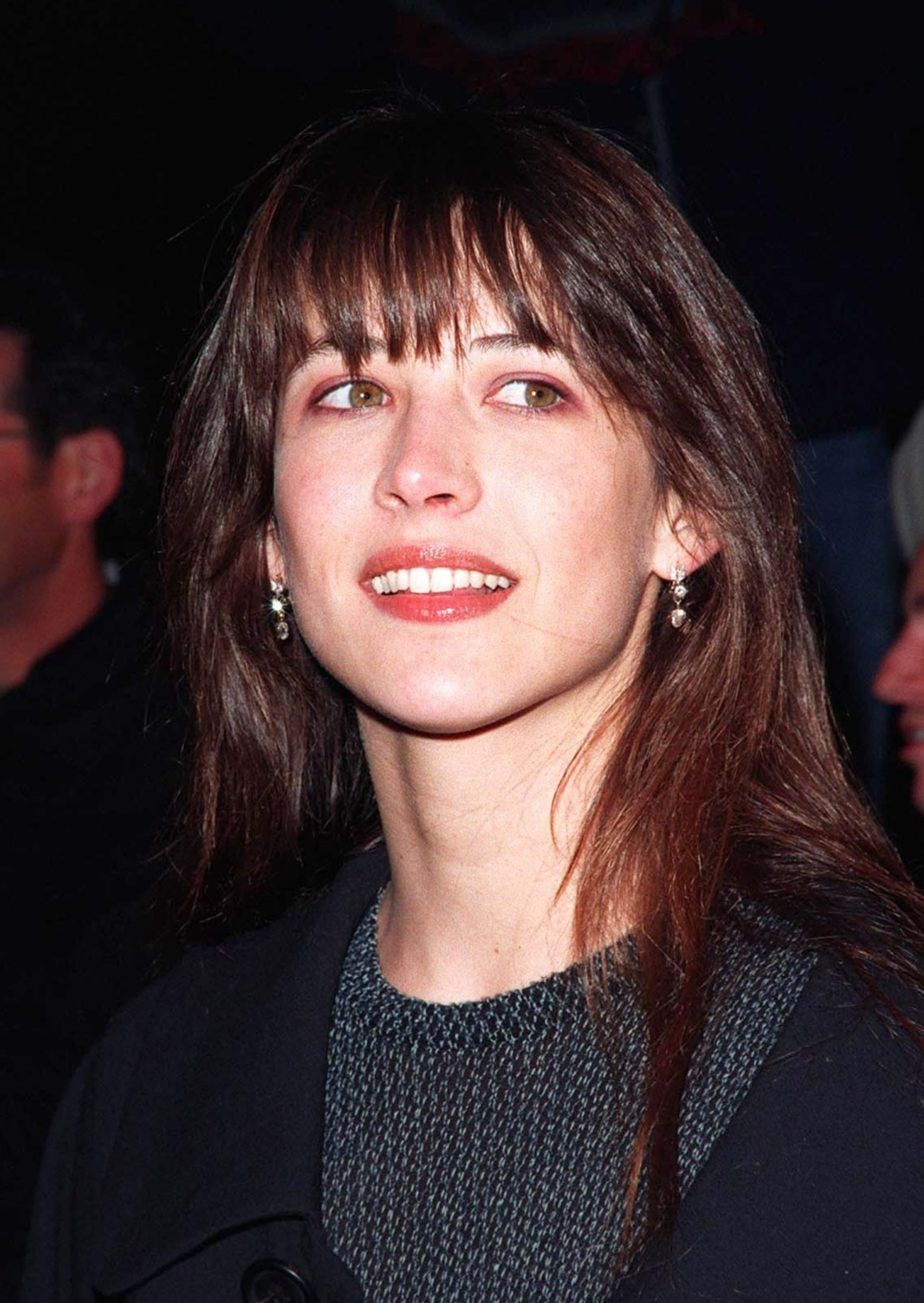 Sophie Marceau Mall bangs And Straight Hair
