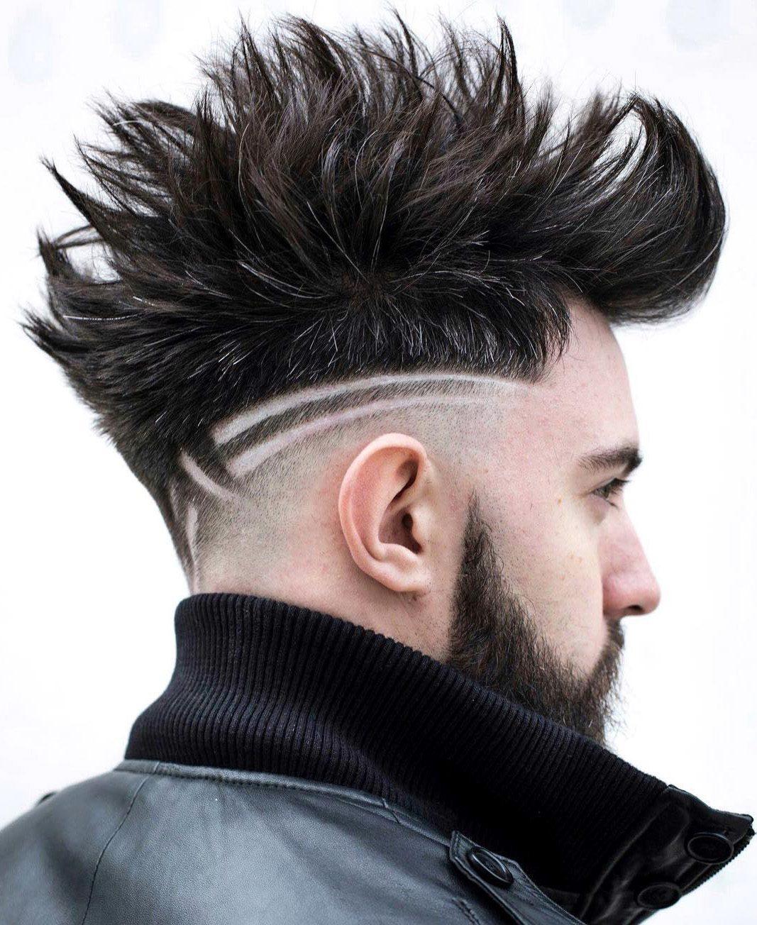 Spiky Brush Up and Hardline Design