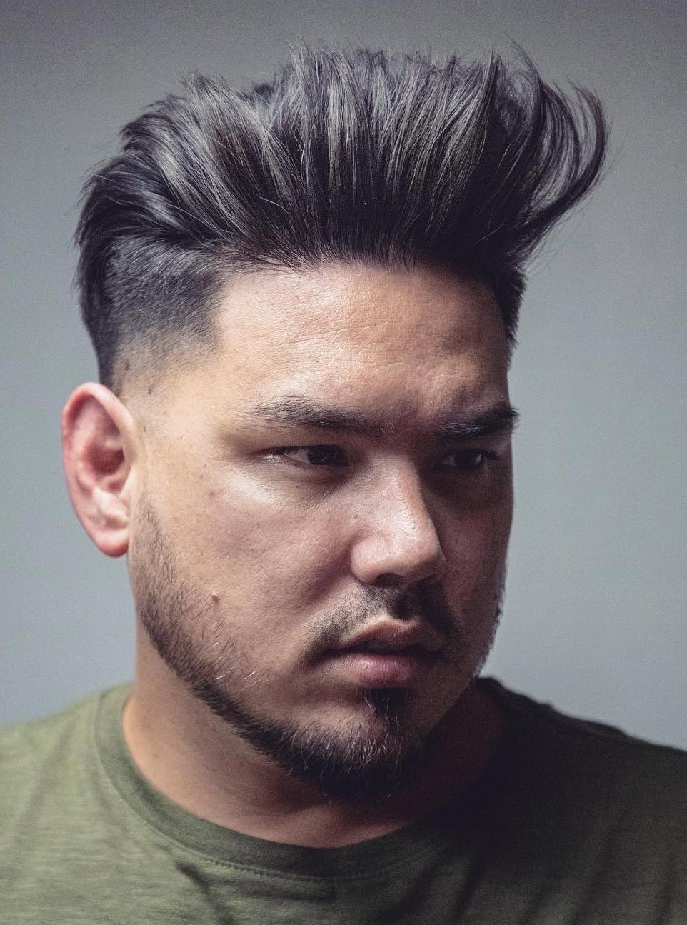 Stand Up Strands with Undercut Fade