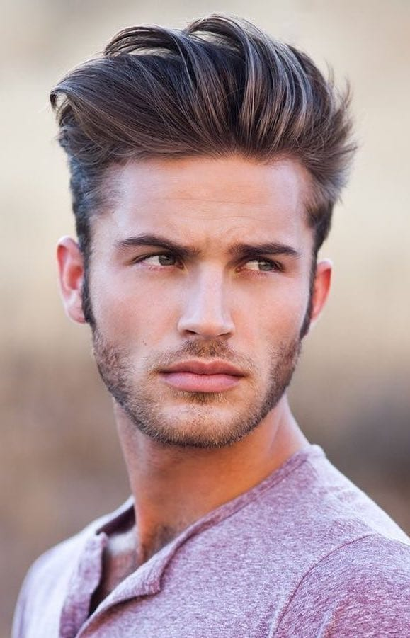 Stranded Quiff with Tapered Side