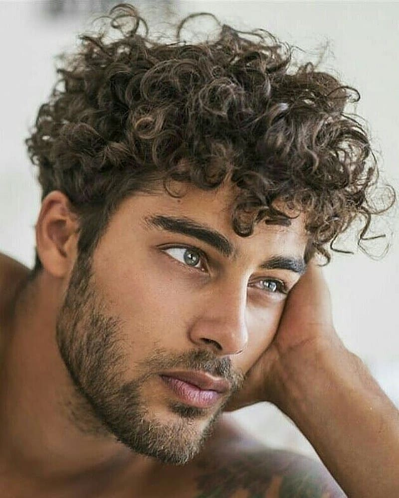 Stylish Curly Mess