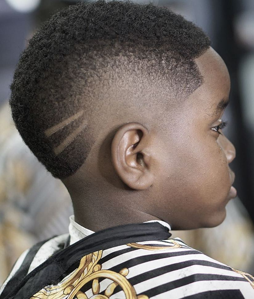 20 Eye Catching Haircuts For Black Boys Haircut Inspiration