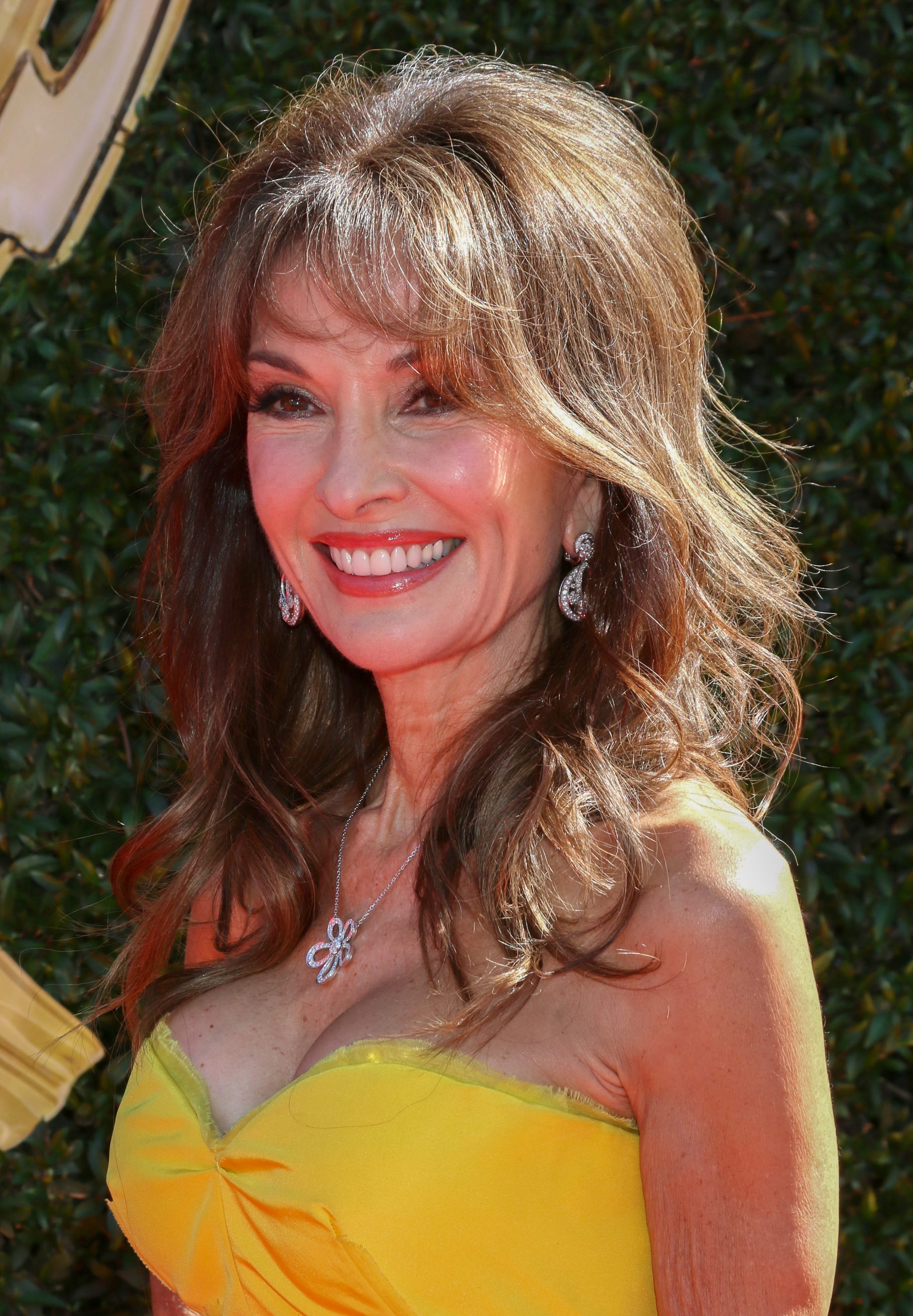 Susan Lucci's 70's Inspired Bangs