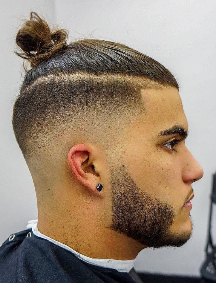 The Top Knot Hairstyle Visual Guide For Men 7 Different