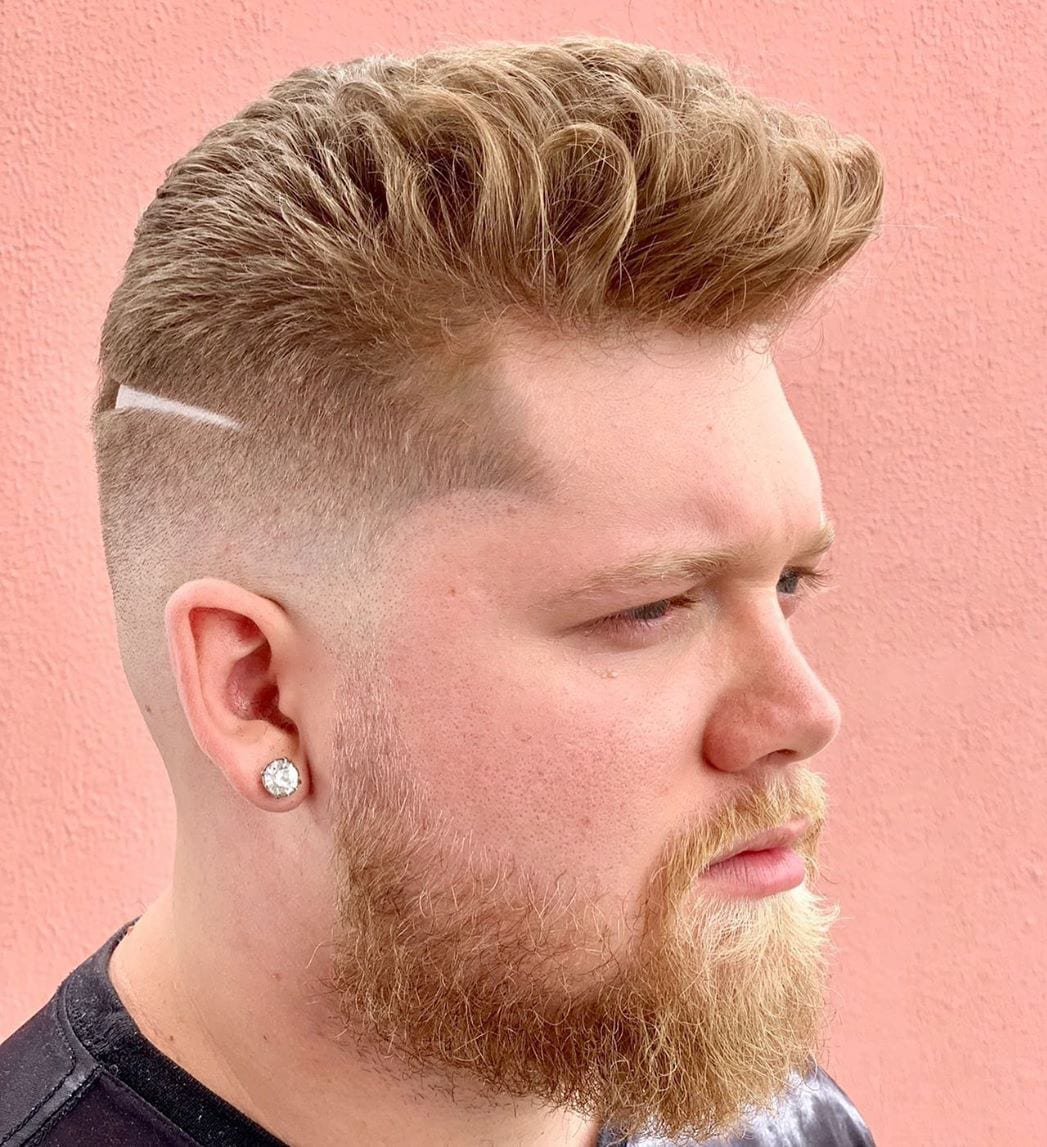 Taper Fade and Brush Up