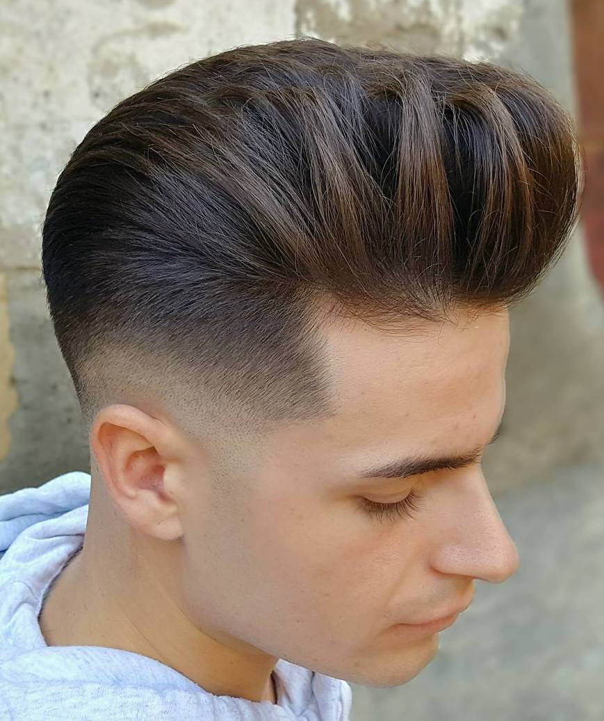 Taper Fade with highlighted Layers