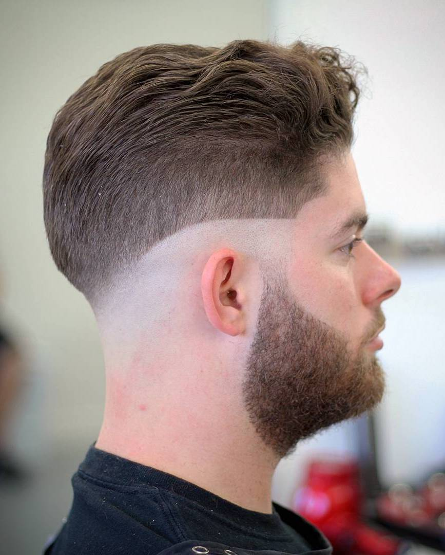 Tapered Side with Shaved Temple