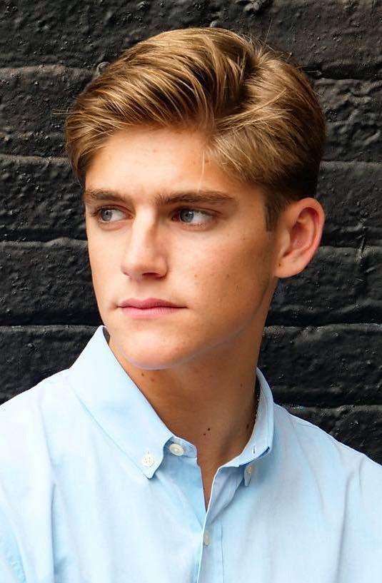 Teen boys   Side part, undercut, classic haircut