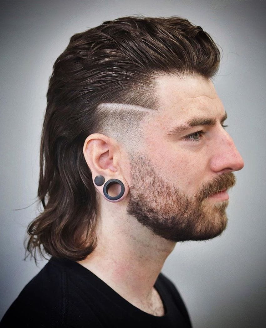 Temple Fade or Mullet, Both Please