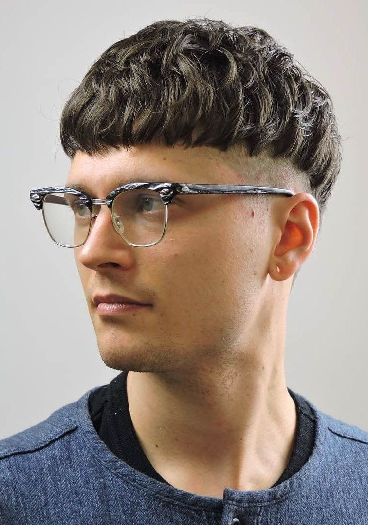 Textured Bowl Crop with Undercut
