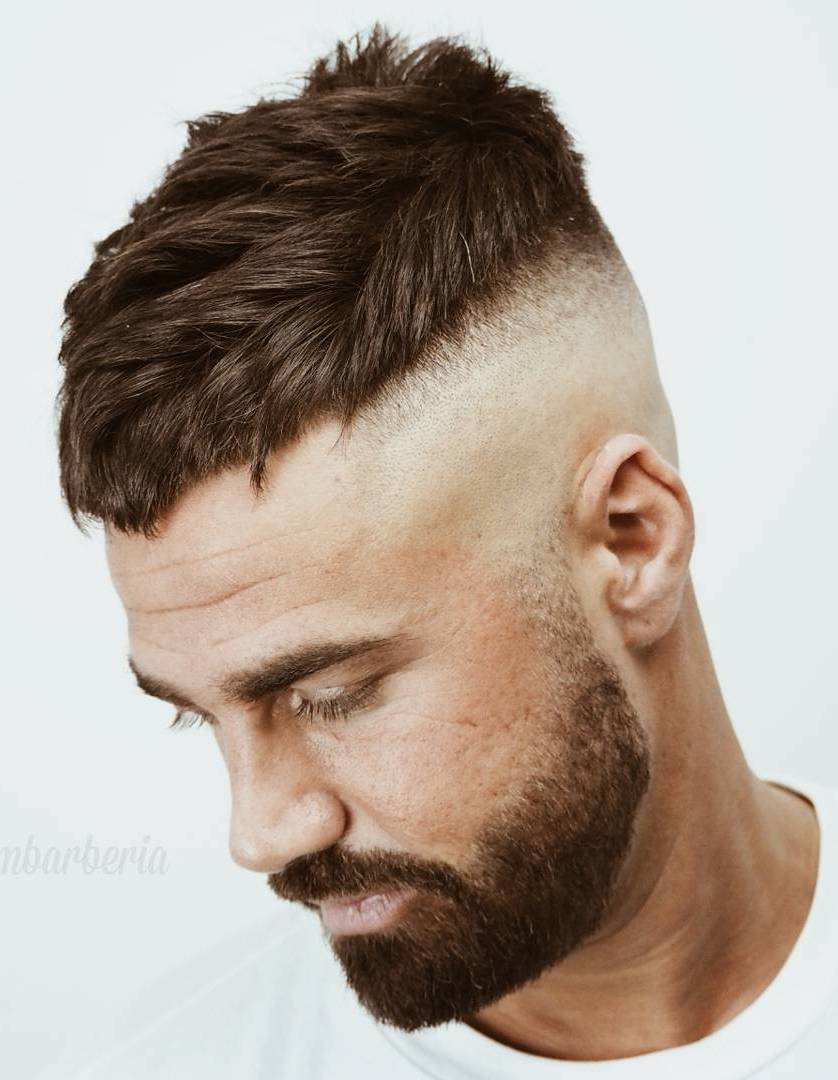 Textured Undercut with Skin Fade