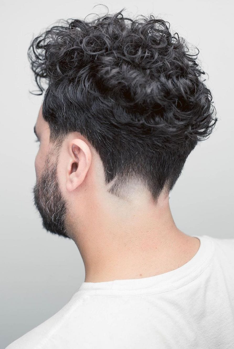 That Curl Desnity with Angular Neckline