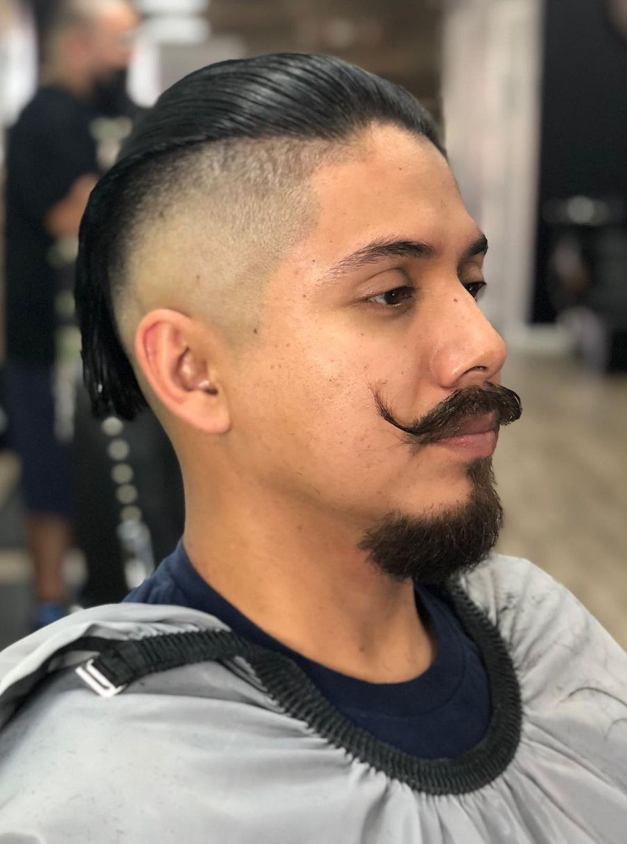 Thick Goatee with Royal Mustache