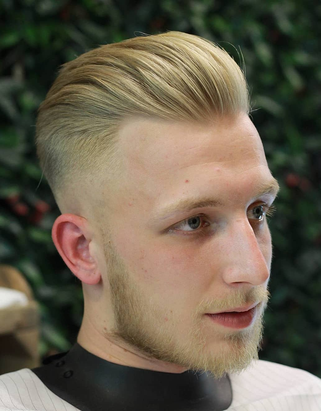 Thin Hair Blonde Pompadour