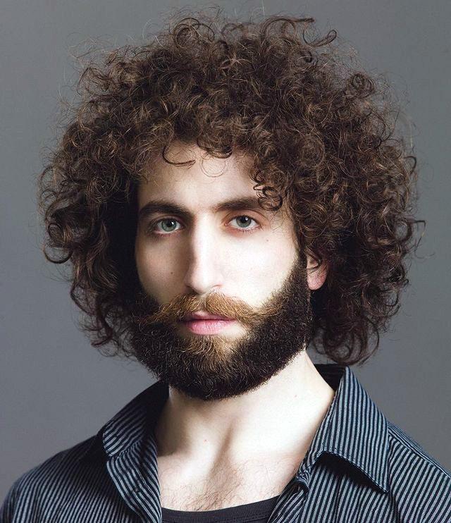 Thin Hair Curly Shag