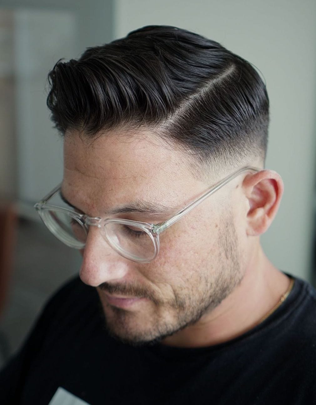 Thin Part Side Sweep with Low Fade
