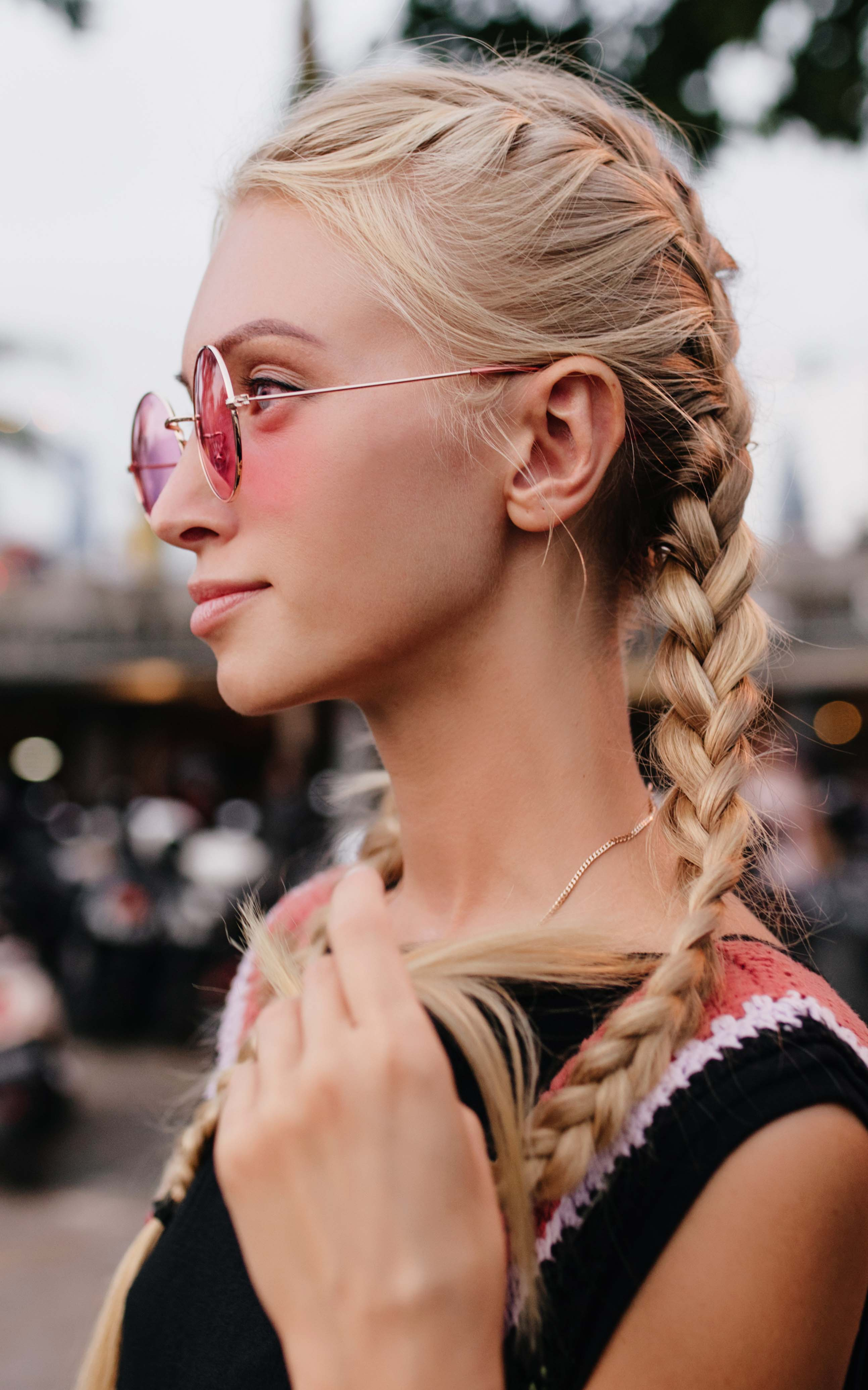 Tight French Braid_