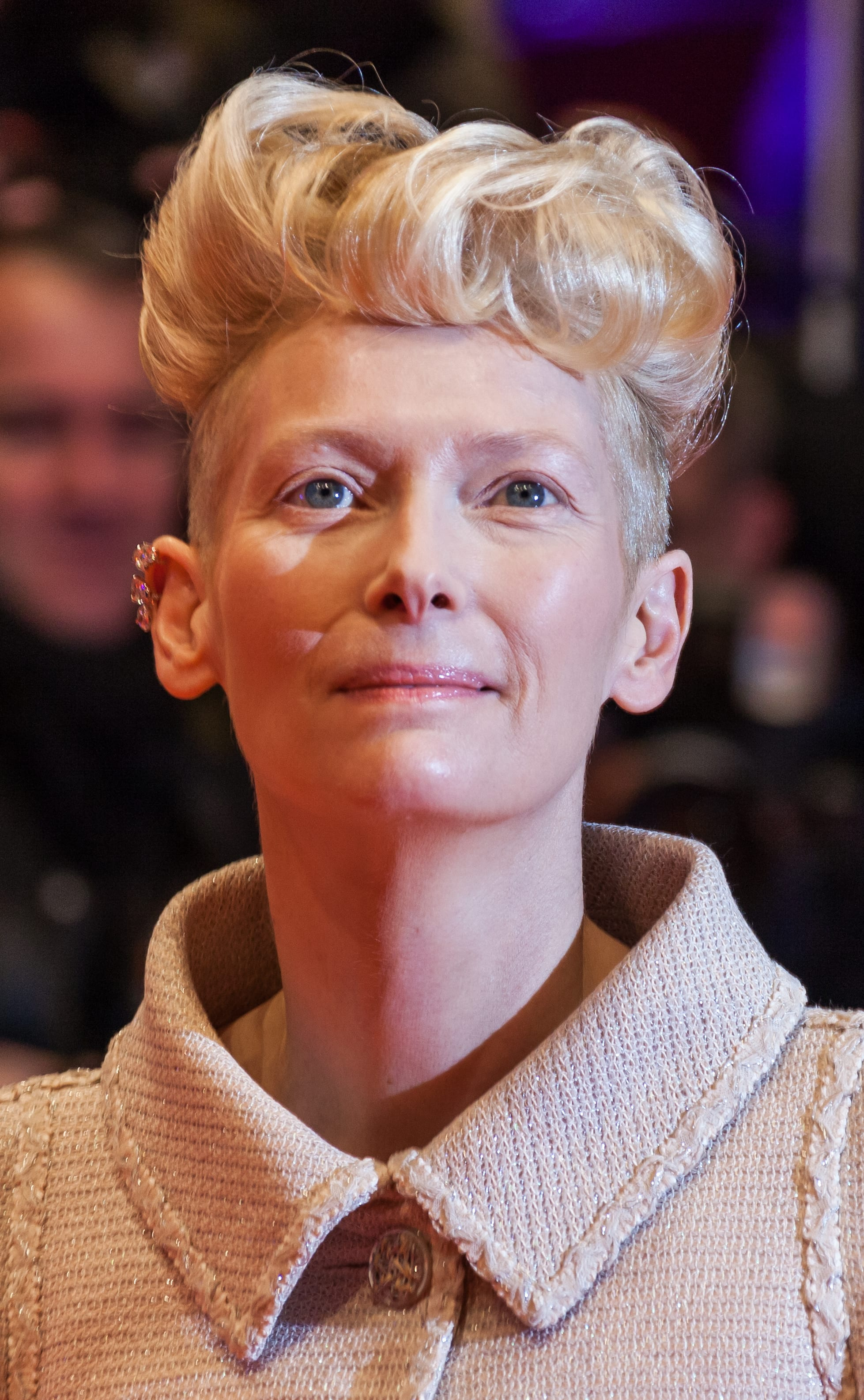 Tilda Swinton's Blowout and Undercut