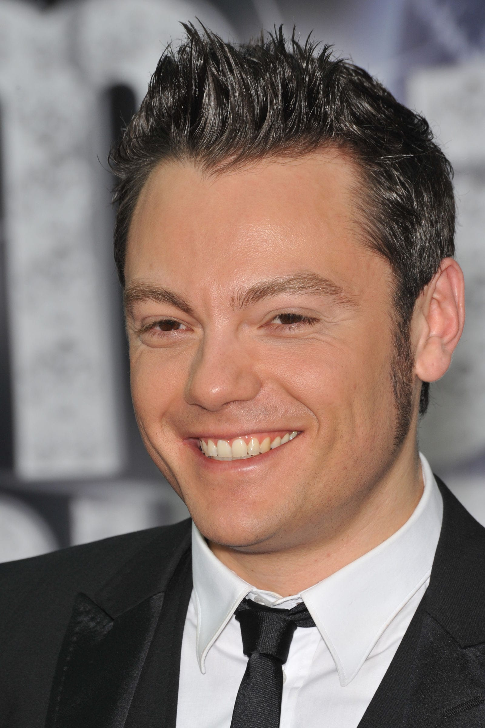 Tiziano Ferro spiky hair