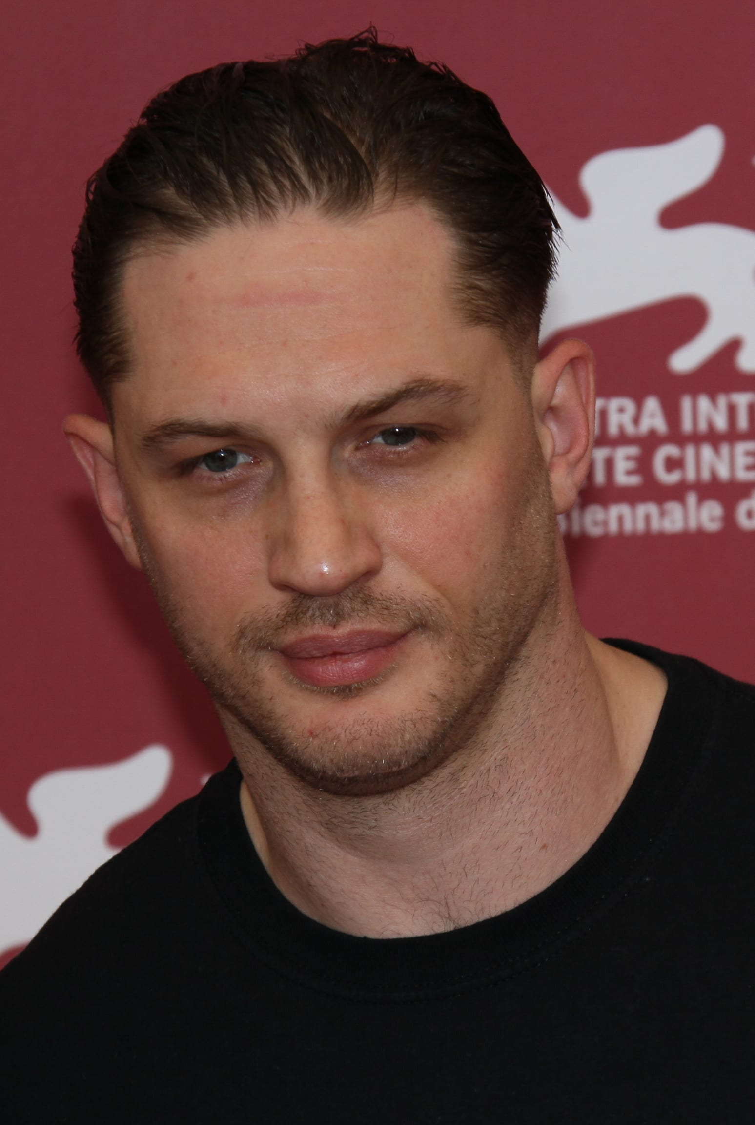 Tom Hardy's Barely There Stubble