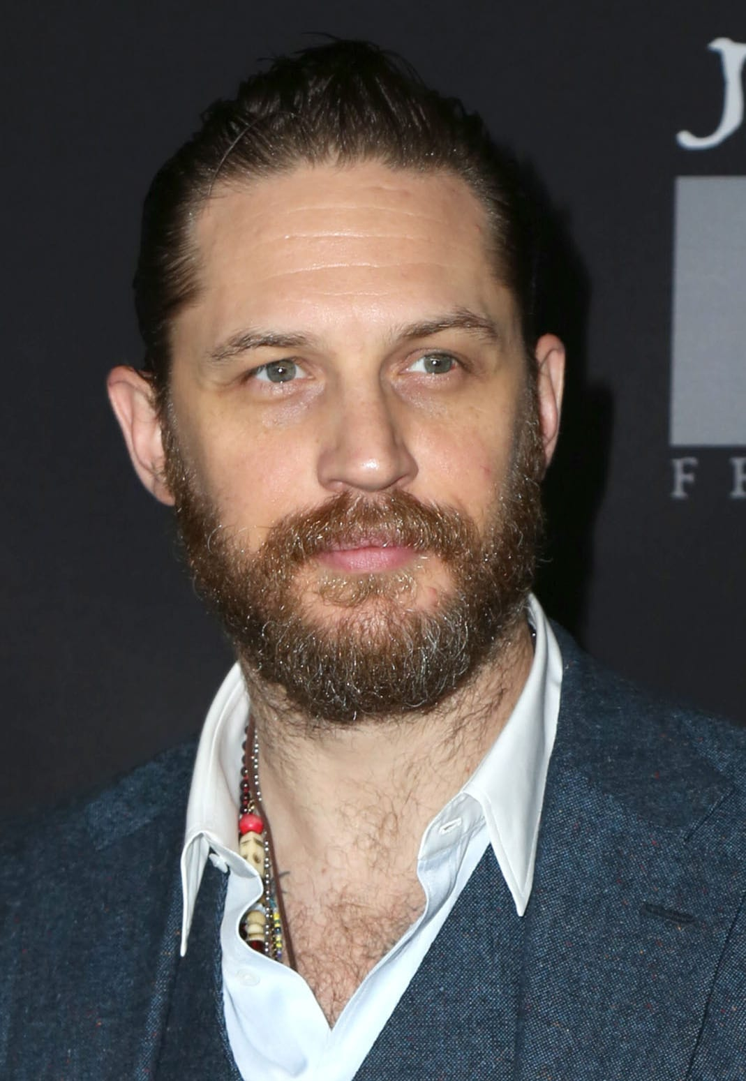 Tom Hardy's Full Beard
