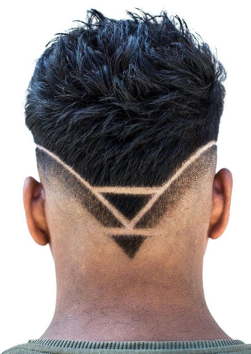 Triangular Neckline