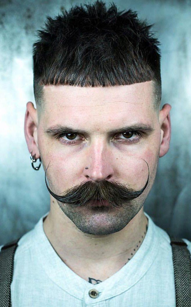 Twirled Moustache