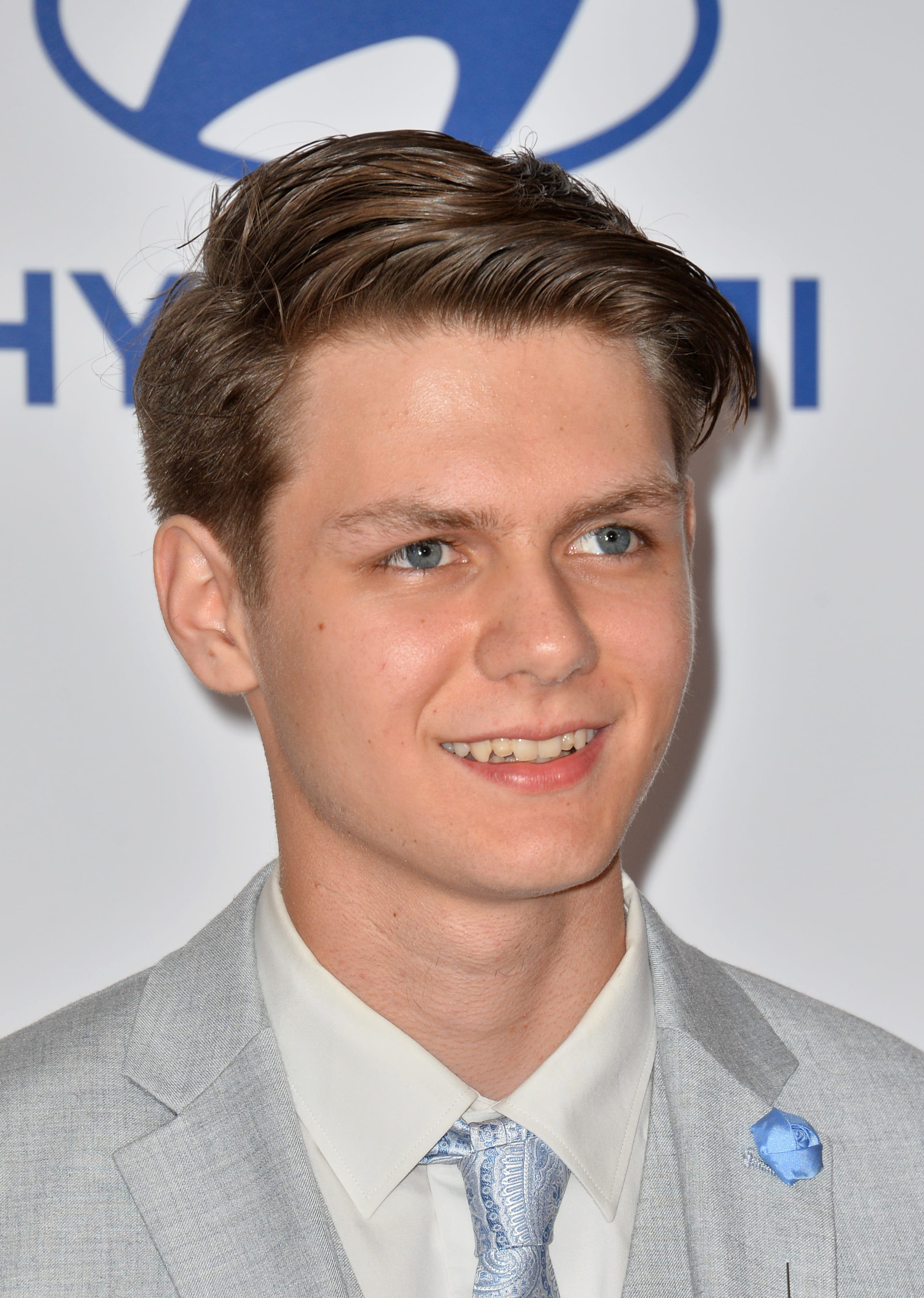 Ty Simpkins' Comb Over