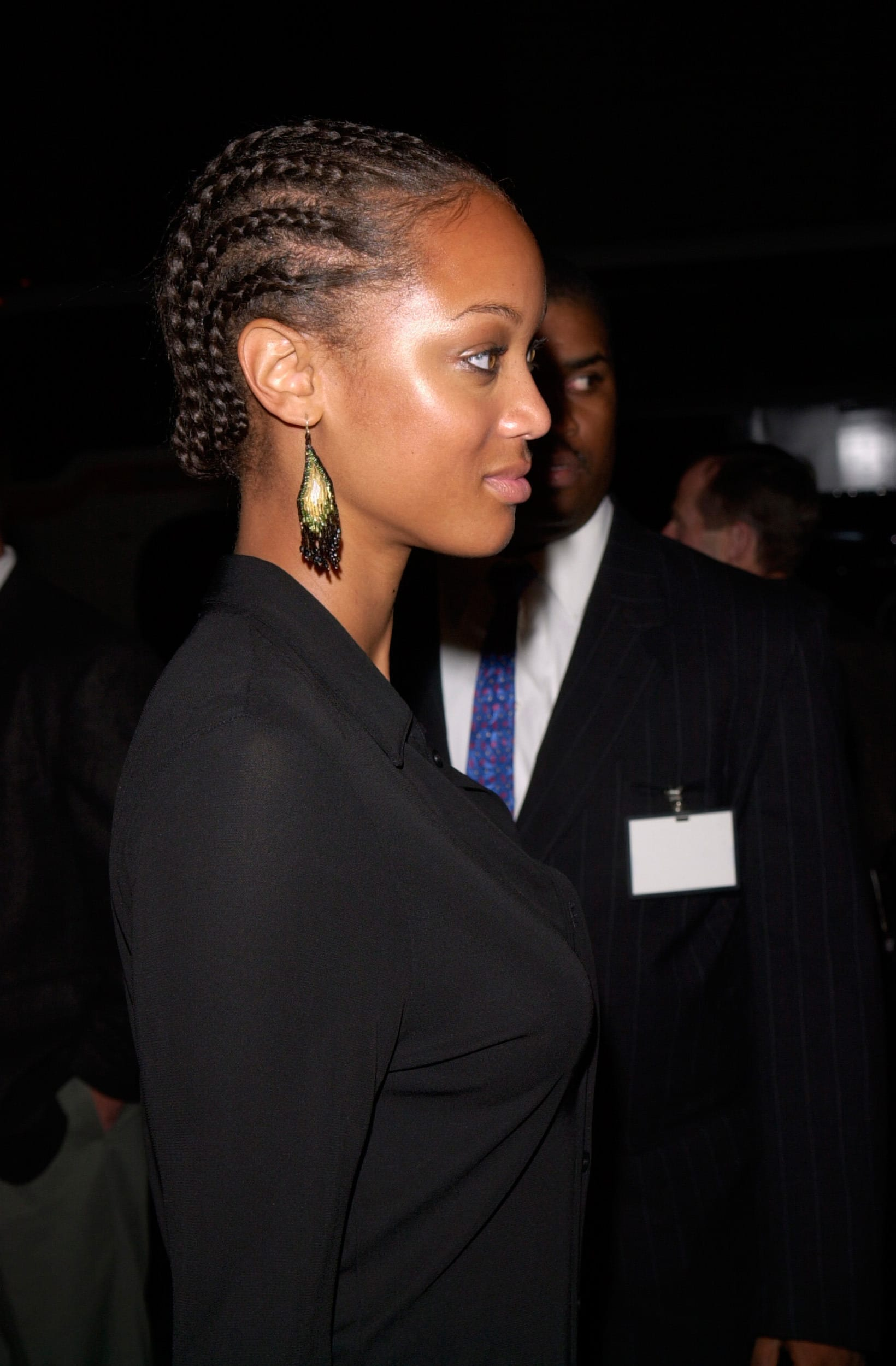 Tyra Banks' Simple and Classic Cornrows